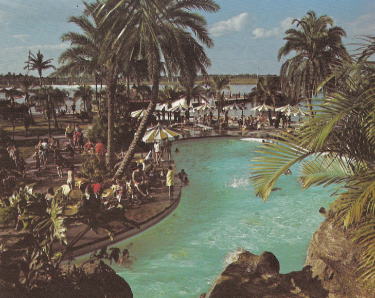 Disney World Polynesian Pool