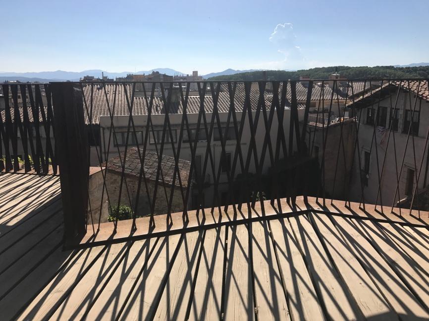The beautiful ironwork fence - Catedral de Girona