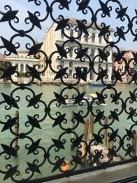 Ironwork from inside Peggy Guggenheim Museum Venice