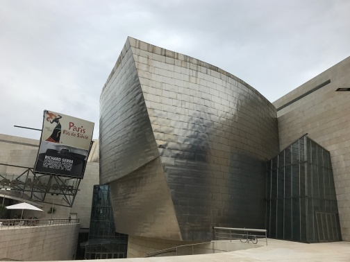 Guggenheim Museum Bilbao by Frank Gehry, a must!
