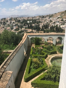 Gardens of the Alhambra, Granada