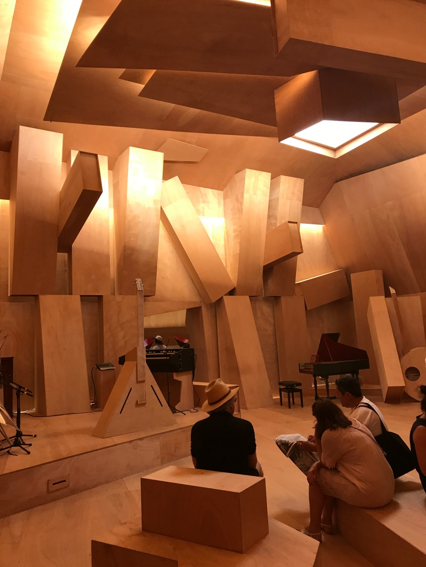 Venice Biennale.. all timber music studio amazingness